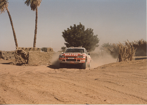 Ynet Website Opel 1986 Paris Dakar